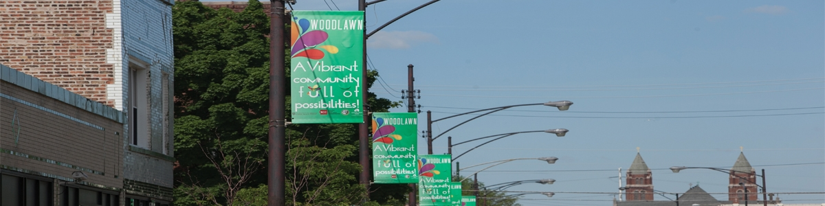 woodlawn neighborhood street banners