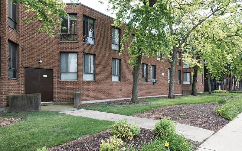 Greenwood Park Apartments building exterior