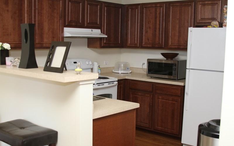 The Grant unit kitchen