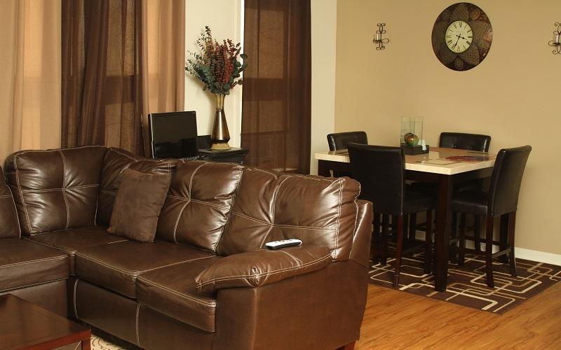 The Grant unit living room