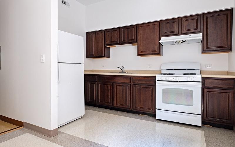 Renaissance Apartments unit kitchen