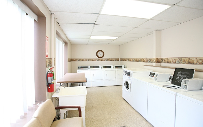 Lafayette Terrace Apartments laundry room