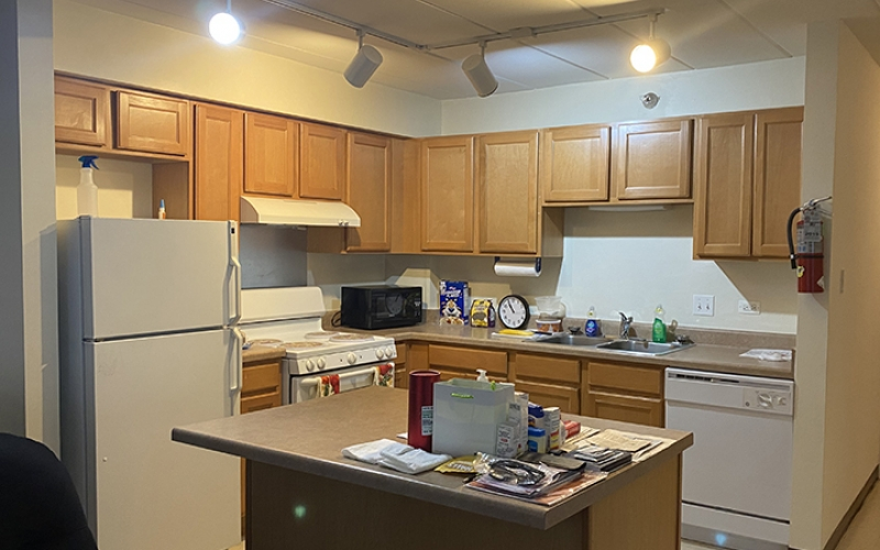 Archer ave unit kitchen