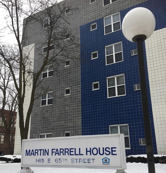 Martin Farrell House Exterior